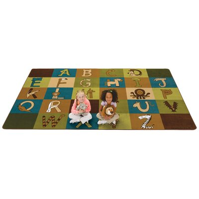 A to Z Animals Area Rug