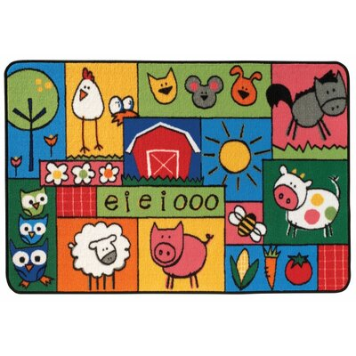Old MacDonald Farm Kids Area Rug Rug Size: 3 x 46