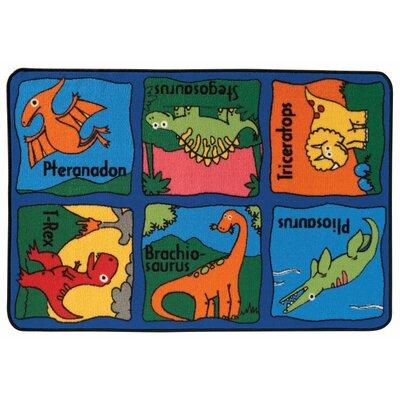 Dino-Mite Kids Rug Rug Size: 3 x 46