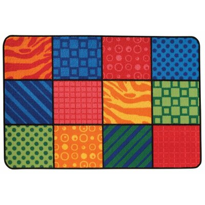 Patterns at Play Kids Rug Rug Size: 4 x 6