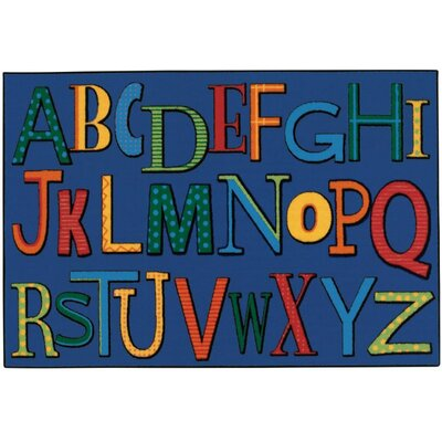 Playful Alphabet Kids Rug Rug Size: 4 x 6