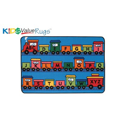 Alphabet Train Kids Rug Rug Size: 4 x 6