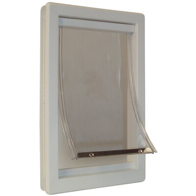 Idlewild Thermoplastic Pet Door Size: Extra Large