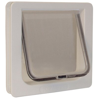 8-3/16 x 7-15/16 4 Way Locking Cat Flap