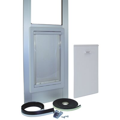 Medium Tall Pet Door Color: Mill