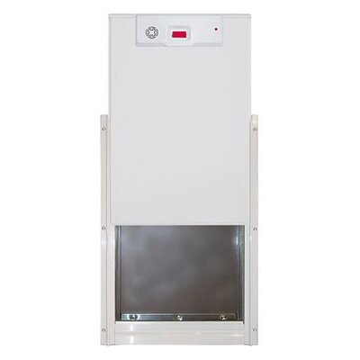 Large Alarm Slide- pet safe Pet Door- EL-2-11 Pet Door