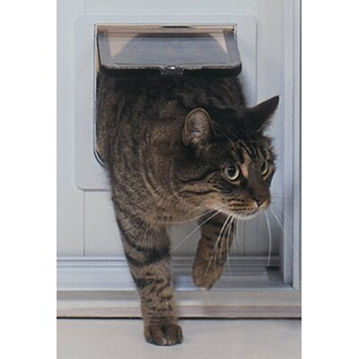 Cat Flap Patio PetDoor Color: Mill