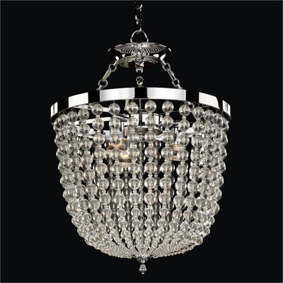 Arcadia 8-Light Foyer Pendant Size: 22.5 H x 17 W