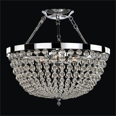 Arcadia 6-Light Semi Flush Mount