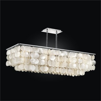 Bay Breeze 6-Light Kitchen Island Pendant
