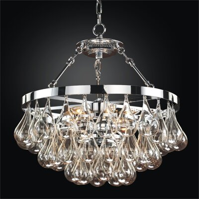 Concorde 6-Light Crystal Chandelier