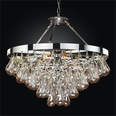 Concorde 6-Light Kitchen Island Pendant