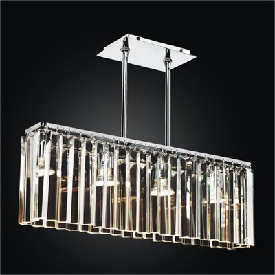Transitions 4-Light Kitchen Island Pendant