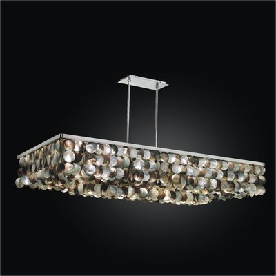 Montego Bay 6-Light Kitchen Island Pendant