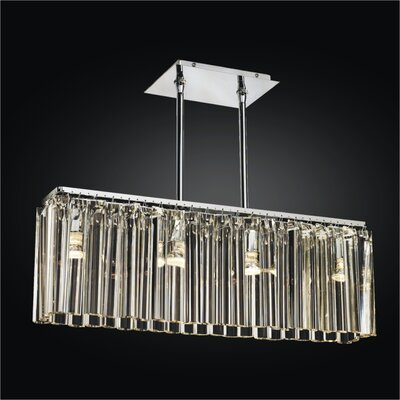 Wind Song 4-Light Kitchen Island Pendant