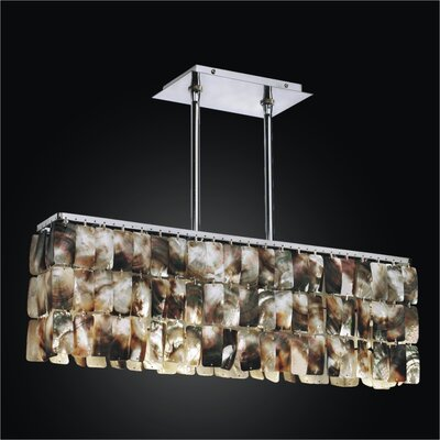 Night Shades 4-Light Kitchen Island Pendant
