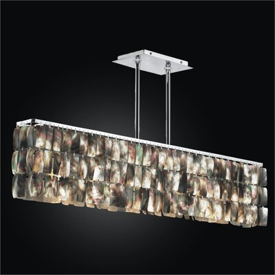 Night Shades 5-Light Kitchen Island Pendant