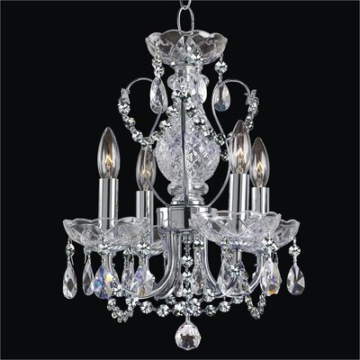 Petite Jewel 4-Light Crystal Chandelier