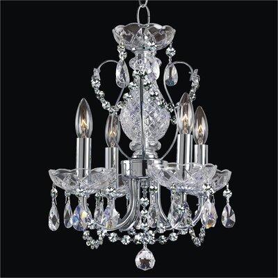 Petite Jewel 4-Light Crystal Chandelier