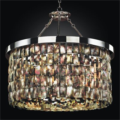 Mailbu 6-Light Drum Chandelier