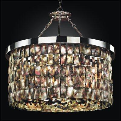 glow lighting 618hm28sp malibu collection 28 in large pendant light 618hm28sp