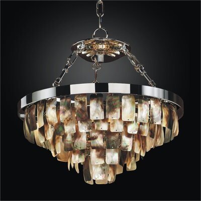 Mailbu 5-Light Crystal Chandelier