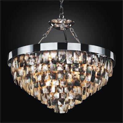 Mailbu 6-Light Crystal Chandelier