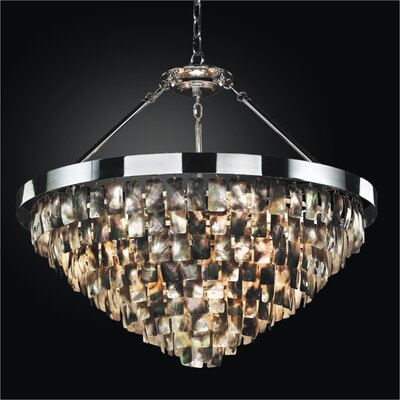 Mailbu 6-Light Crystal Chandelier