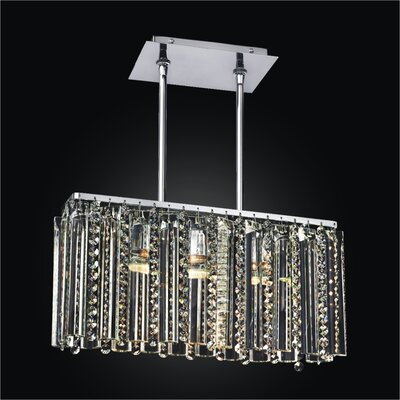 Odyssey 3-Light Kitchen Island Pendant