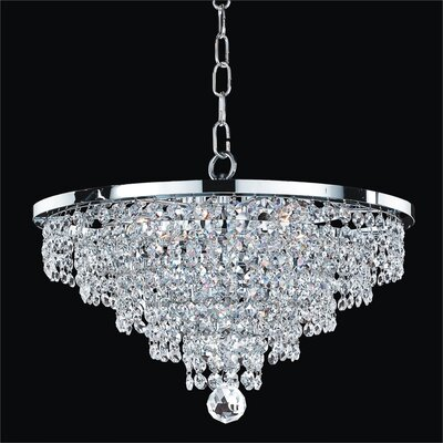 Vista 6-Light Crystal Chandelier