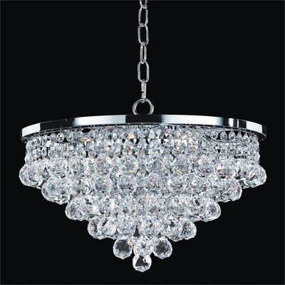 Thorpe Modern 5-Light Crystal Chandelier