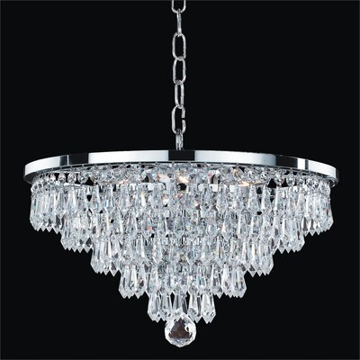 Vista 5-Light Crystal Chandelier