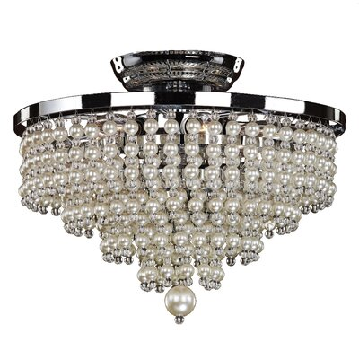 Cava 6-Light Semi Flush Mount