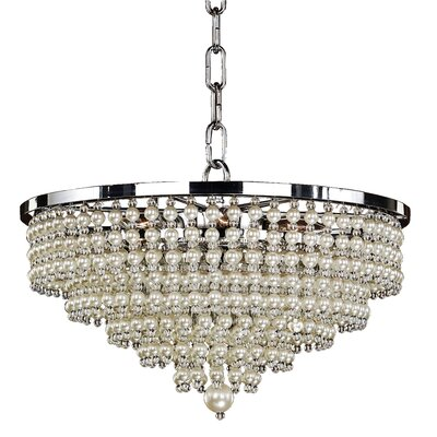 Cava 6-Light Crystal Pendant