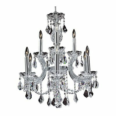 Maria Theresa 9-Light Crystal Chandelier