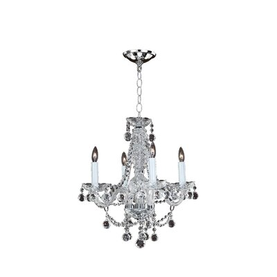 Crystal Palace 6-Light Crystal Chandelier