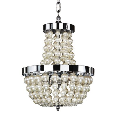 Moscato 3-Light Chandelier