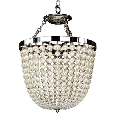 Moscato 3-Light Crystal Pendant