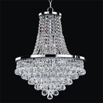 Thorpe Traditional 8-Light Empire Chandelier