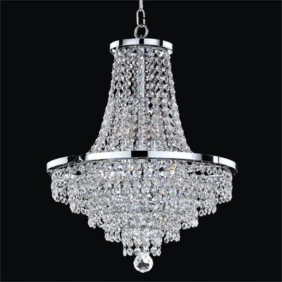 Vista 8-Light Empire Chandelier Size: 20.5 H x 16 W