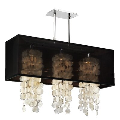 Salerna 4-Light Kitchen Shade Color: Black