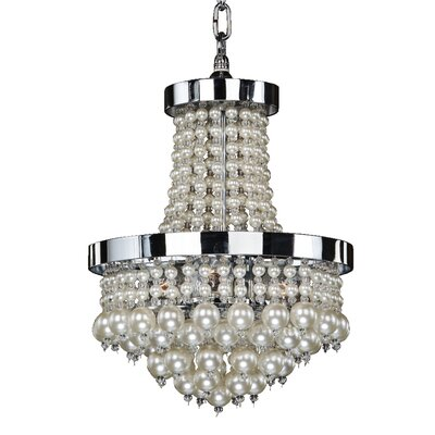 8-Light Empire Chandelier Size: 17.5 H x 11 W x 11 D