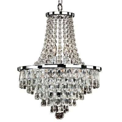Summer Rain 9-Light Empire Chandelier Size: 21