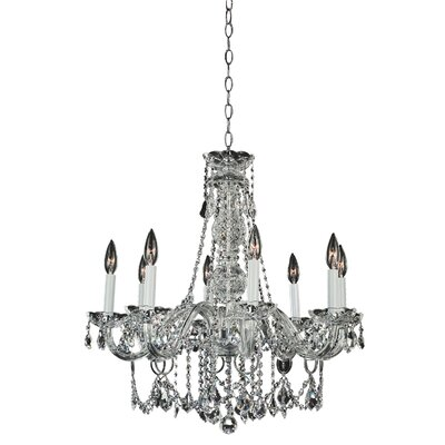 Crystal Palace 8-Light Crystal Chandelier