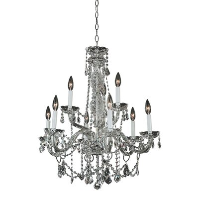 Crystal Palace 9-Light Crystal Chandelier