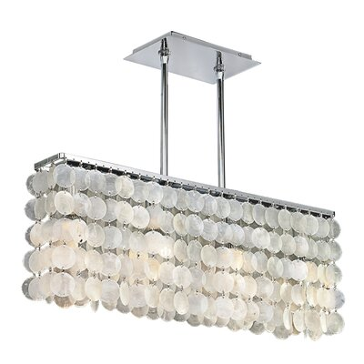 Surfside 3-Light Crystal Chandelier