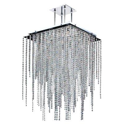 Cohen-Arazi 9-Light Crystal Pendant Size: 37 H x 24 W x 24 D