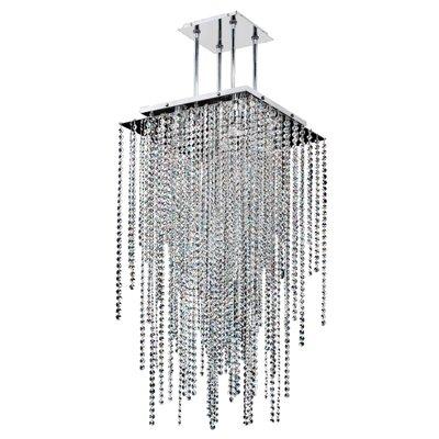 Cohen-Arazi 5-Light Crystal Pendant Size: 37 H x 18 W x 18 D