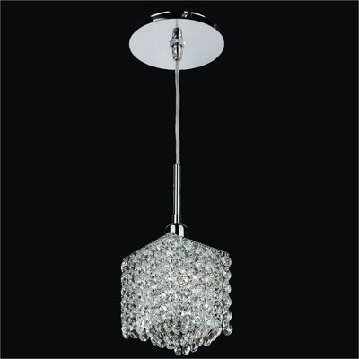 Fuzion X 1-Light Crystal Mini Pendant