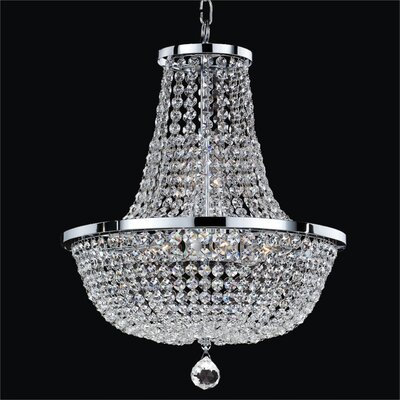 Synergy 8-Light Empire Chandelier Size: 20.5 H x 16 W